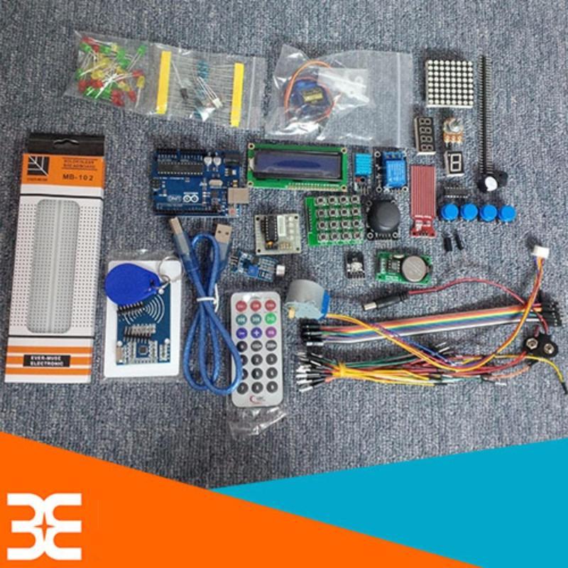 Bảng giá Combo Bộ Kít Arduino Uno R3 V2 Full Phụ Kiện Học tập Từ Dễ Tới Khó