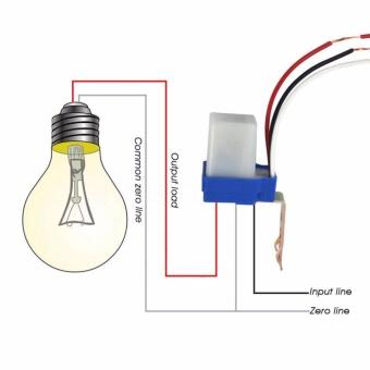 Công tắc cảm biến ánh sáng 12v DC