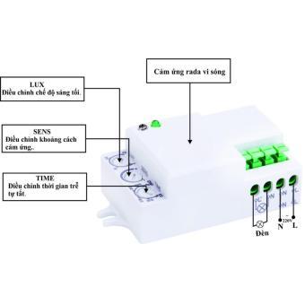 Công tắc cảm ứng vi sóng KW - RS02D