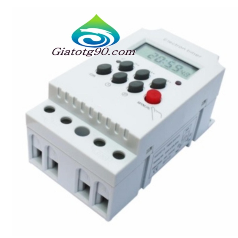 Bảng giá Công tắc hẹn giờ 17 chương trình Electron timer 206432 + Tặng 1 Bút thử điện K 372