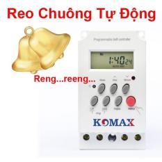 CÔNG TẮC HẸN GIỜ ĐIỆN TỬ KM-SW02 (ĐIỀU KHIỂN REO CHUÔNG TỰ ĐỘNG)