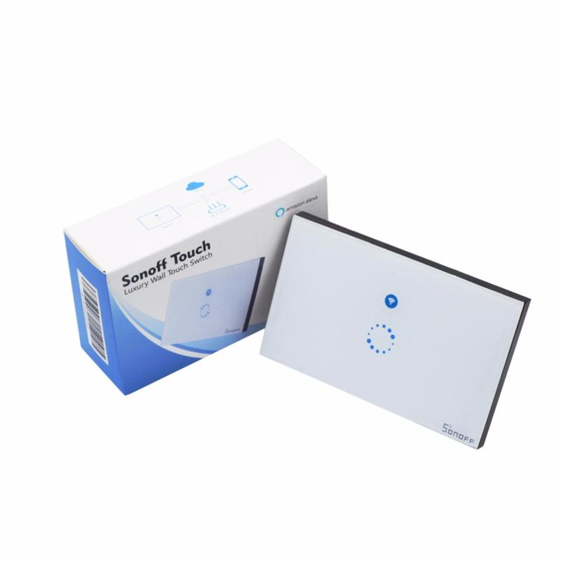 Công tắc wifi kết hợp công tắc cảm ứng âm tường Sonoff Touch cho nhà thông minh Smart home