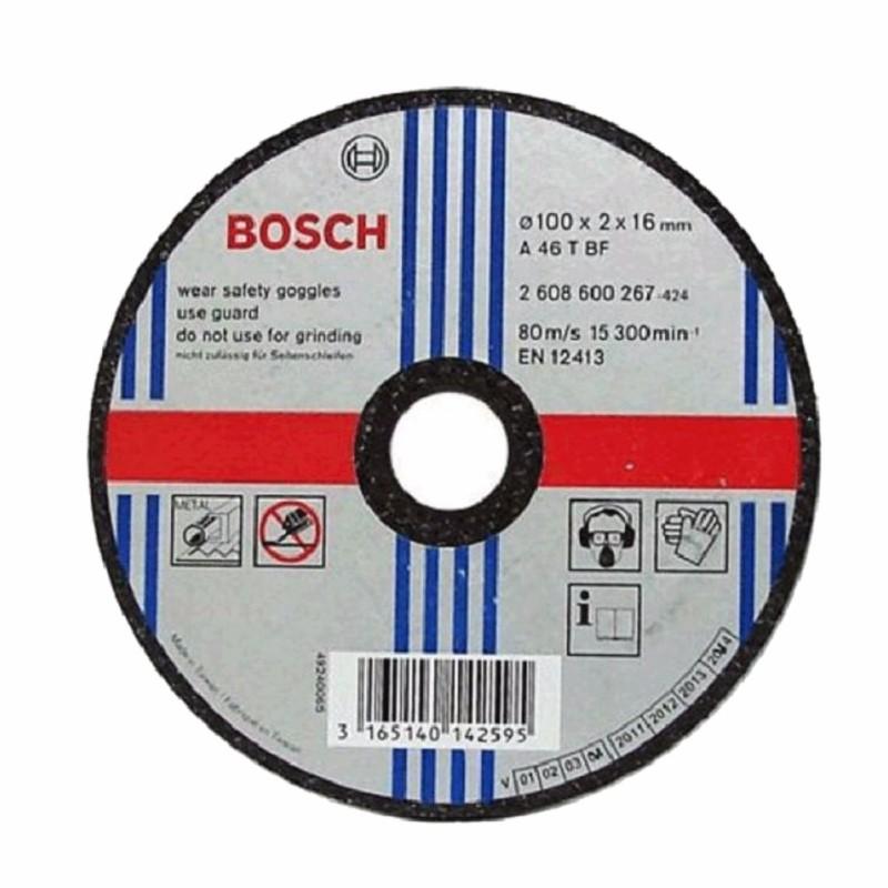 Đá cắt Bosch 100x2x16mm (sắt)