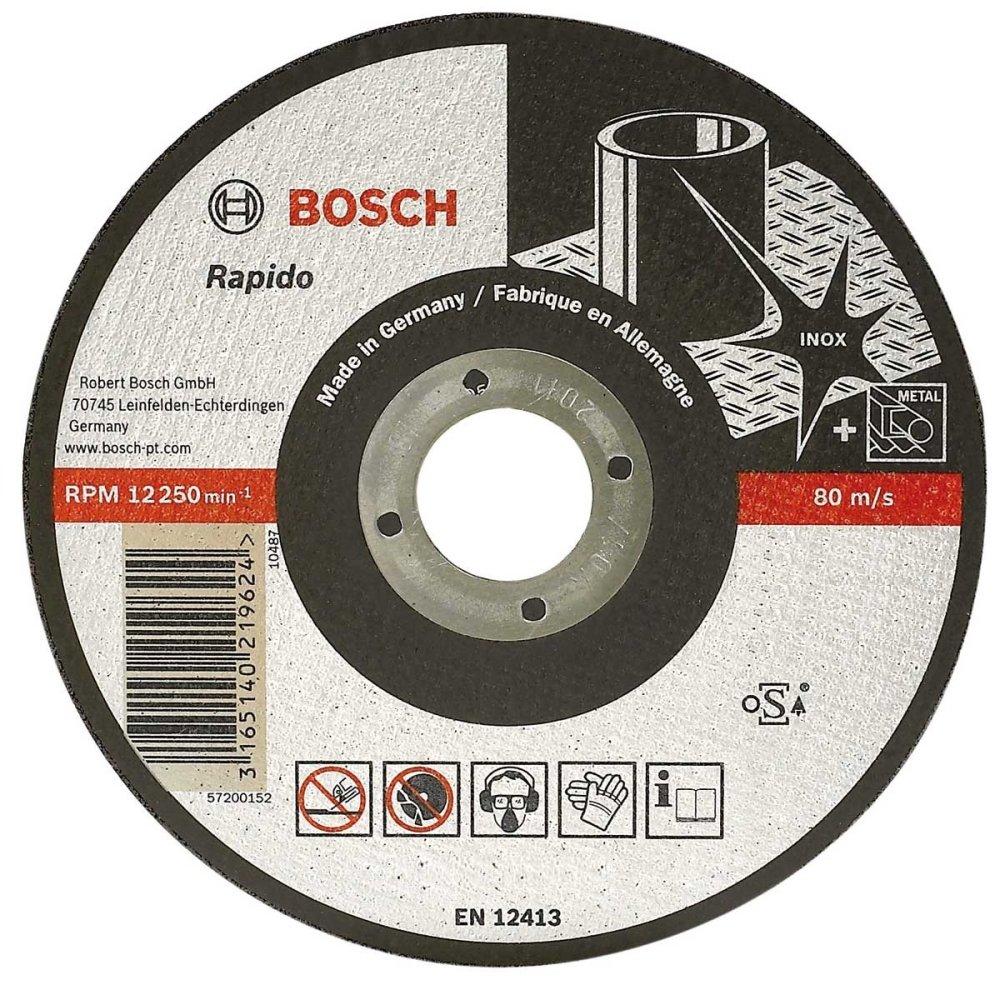 Đá cắt Inox Bosch 26086007414 (Đen)