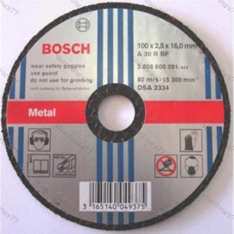 Đá cắt kim loại Bosch 100x2.0x16mm - 2608600267