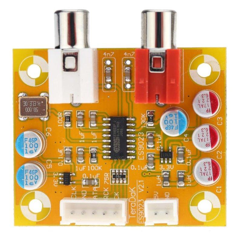 Bảng giá DAC Sabre ES9023 Analog I2S 24 Bit 192 KHz Decoder Board Mode Conversion - intl