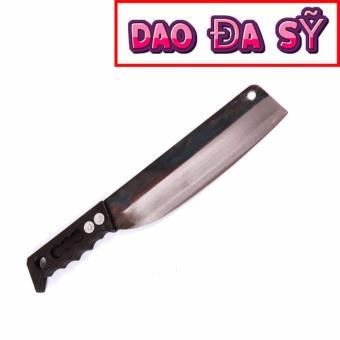 Dao Đa Sỹ: Dao bài thái - Rèn bằng thủ công loại 1 (DT-PC) + tặng kèm dao nhọn làng nghề