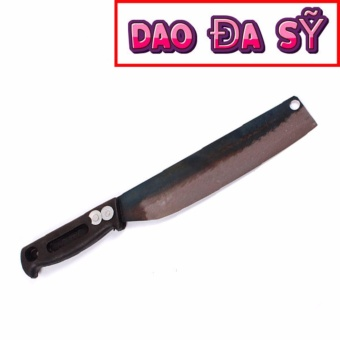 Dao Đa Sỹ: Dao chuối bột - Rèn bằng thủ công loại 1 (DT-PC) + tặng kèm dao nhọn làng nghề