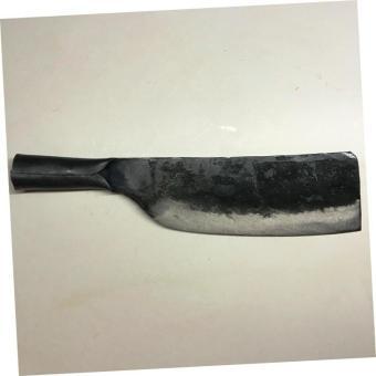 Dao phay chặt xương Hải Đăng - Đa Sỹ rèn thủ công bằng thép loại 1900g (Đen) HD05-04