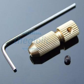 ĐẦU KẸP MŨI KHOAN 2032 2.5-3.2mm TRỤC Ø2mm ( Tặng Lục Giác Bắt Ốc )
