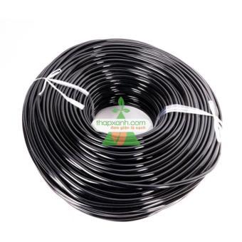 Dây dẫn tưới nhỏ giọt ống PE Φ4/7 (4/7mm) - 25m dài