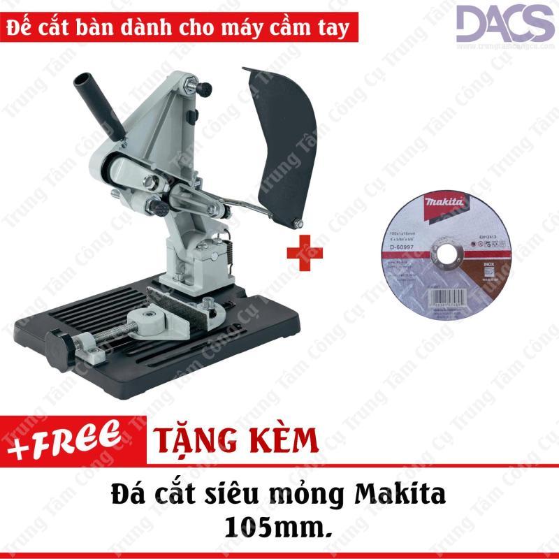 Đế máy cắt bàn sử dụng cho máy cắt cầm tay tiện lợi TZ-6103 (Tặng kèm đá cắt siêu mỏng Makita).
