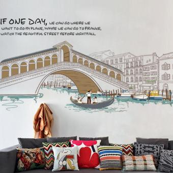 DECAL DÁN TƯỜNG IF ONE DAY - DC545