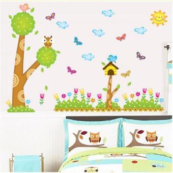 Decal Dán Tường Trang Trí Phòng Khách AY9183 (60x90)
