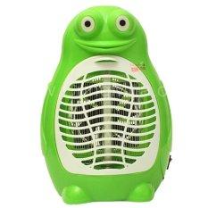 Đèn bắt muỗi bóng LED hình ếch (Xanh)