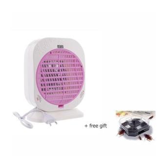 đèn bắt muỗi OSAKA GM588 (TRẮNG) + tặng kèm dụng cụ bắt gián thôngminh.