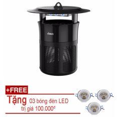 Đèn bắt muỗi và diệt côn trùng UV Hàn Quốc (Tặng kèm 03 bóng LED trần 3W)