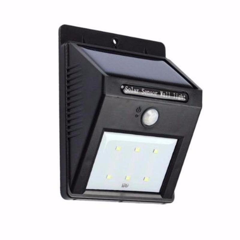 Bảng giá Đèn cảm biến ever brite- pin sạc năng lượng mặt trời - dcbeverbr(Đen)