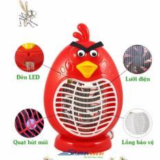 Đèn diệt muỗi cao cấp Hình Angry Bird kiêm đèn ngủ tiện ích (Đỏ)