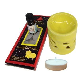 Đèn đốt nến tinh dầu Bát Tràng NNGS 286