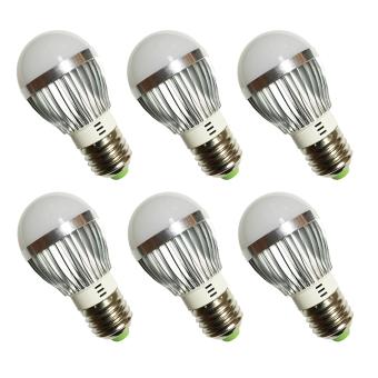 Đèn LED búp nhôm tiết kiệm điện 3W bộ 6 cái (sáng trắng) - 8786958 , TL479HLBCVZWVNAMZ-992161 , 224_TL479HLBCVZWVNAMZ-992161 , 283000 , Den-LED-bup-nhom-tiet-kiem-dien-3W-bo-6-cai-sang-trang-224_TL479HLBCVZWVNAMZ-992161 , lazada.vn , Đèn LED búp nhôm tiết kiệm điện 3W bộ 6 cái (sáng trắng)
