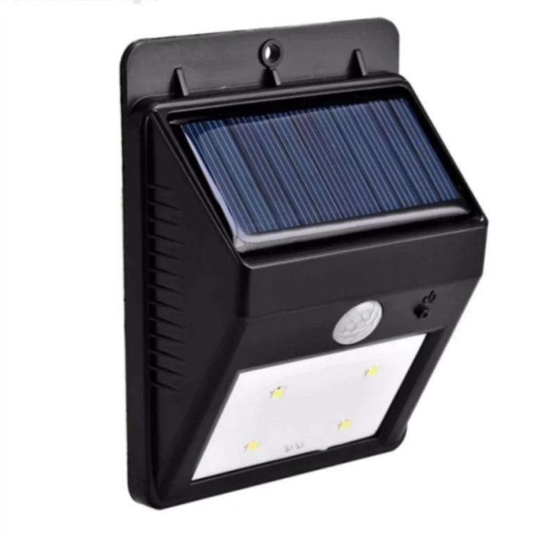 Bảng giá Đèn led cảm ứng chống trộm thông minh Tự động xạc bằng năng lượng mặt trời 2017