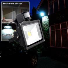 Den led ngoai troi, Den led nang luong mat troi - COMBO Đèn LED siêu sáng 30w + cảm biến bật tắt đèn tự động  Mẫu 693 - Bh uy tín 1 đổi 1 bởi TECH-ONE