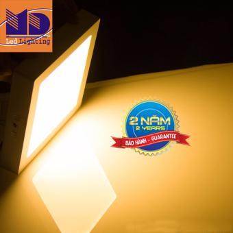 Đèn led ốp trần Vuông Ánh sáng Vàng (24W - Φ300) - MD40 - 3