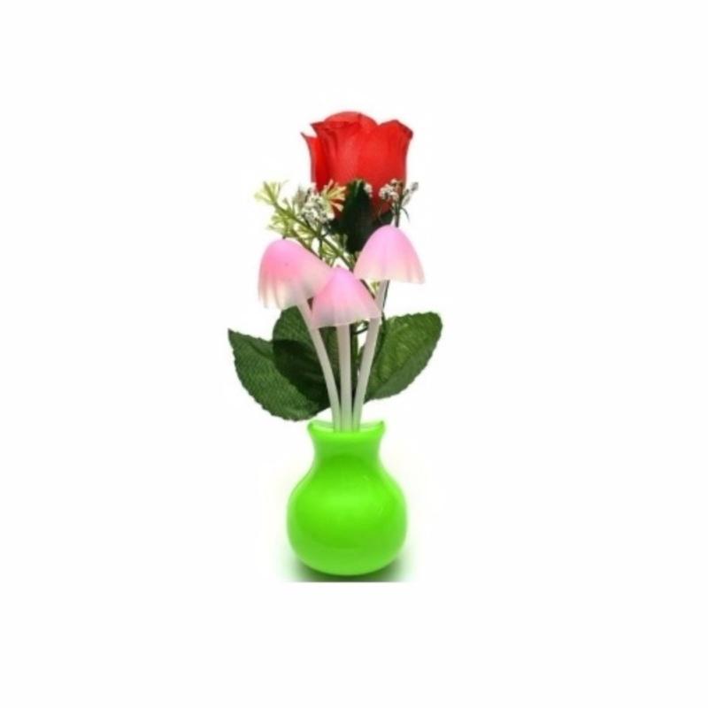 Bảng giá Mua Đèn ngủ cảm biến ánh sáng Nấm và Hoa hồng