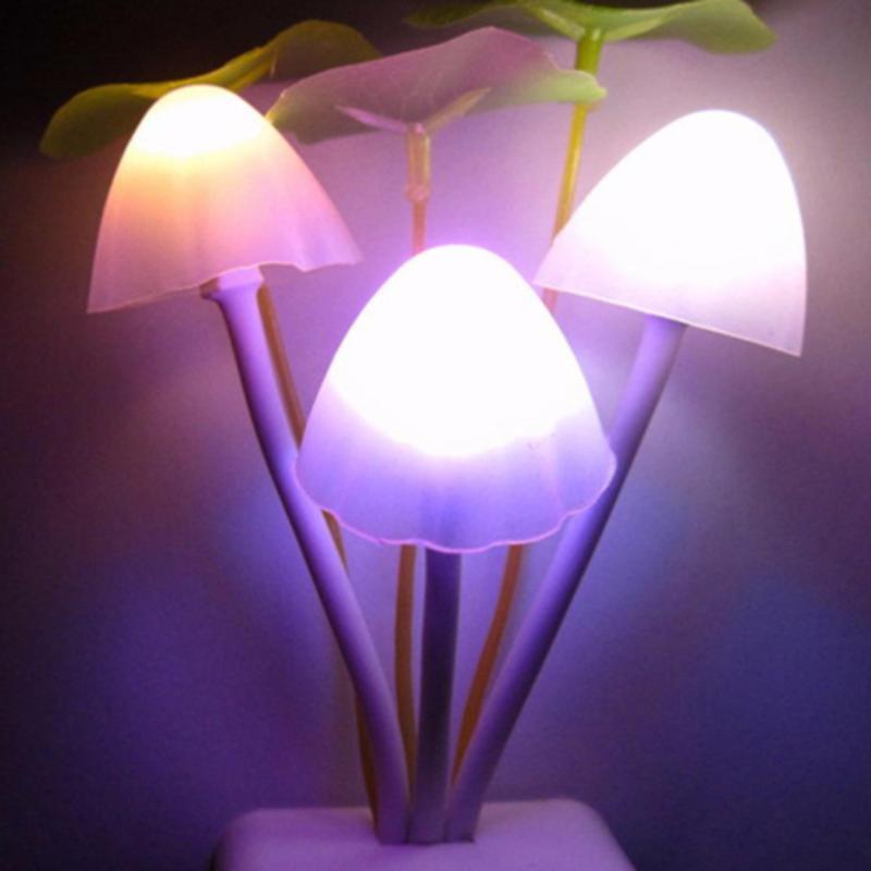 Bảng giá Đèn ngủ cảm ứng ánh sáng hình nấm 0,5W