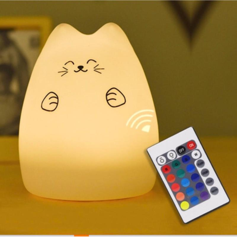 Bảng giá Mua Đèn ngủ gấu mặt cười siêu đáng yêu, siêu mềm