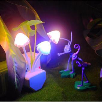 Đèn ngủ nấm 7 màu CHODEAL