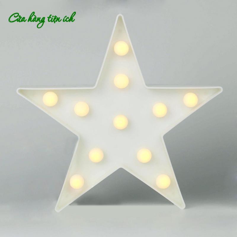 Bảng giá Đèn ngủ trang trí 3D  ngôi sao 5 cánh