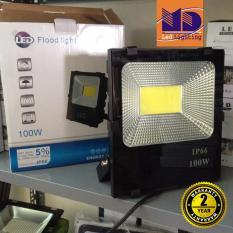 Đèn Pha led cao cấp chống nước COB ánh sáng vàng 100W - MD106