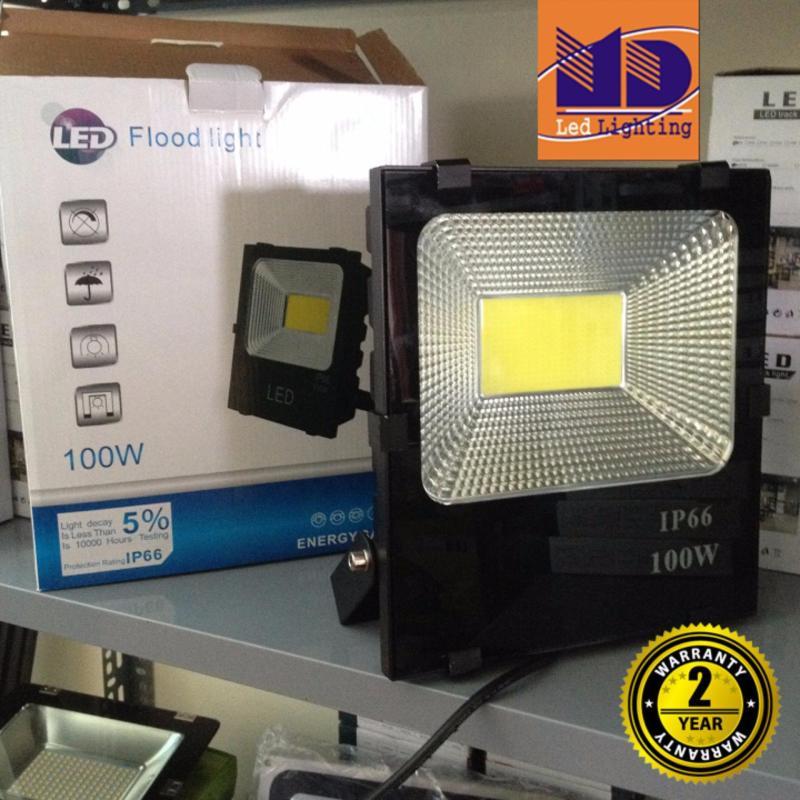 Bảng giá Đèn Pha led cao cấp chống nước COB ánh sáng vàng 100W - MD106