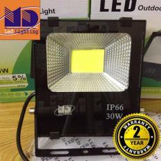 Đèn Pha led Cao cấp chống nước COB ánh sáng vàng 30W - MD106