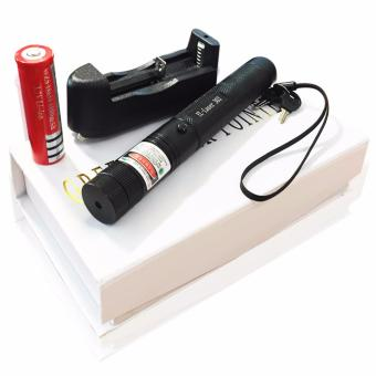 Đèn pin chiếu tia Laser 303 có sạc