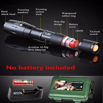 Đèn pin sạc cầm tay - Đèn pin siêu sáng HUNTER S26, giá rẻ nhất - BH 1 ĐỔI 1