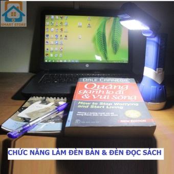 Đèn pin sạc kiêm đèn đọc sách KM8730