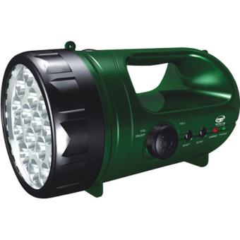 Đèn pin sạc siêu sáng có Radio Legi LG-0333D-VT (Xanh)