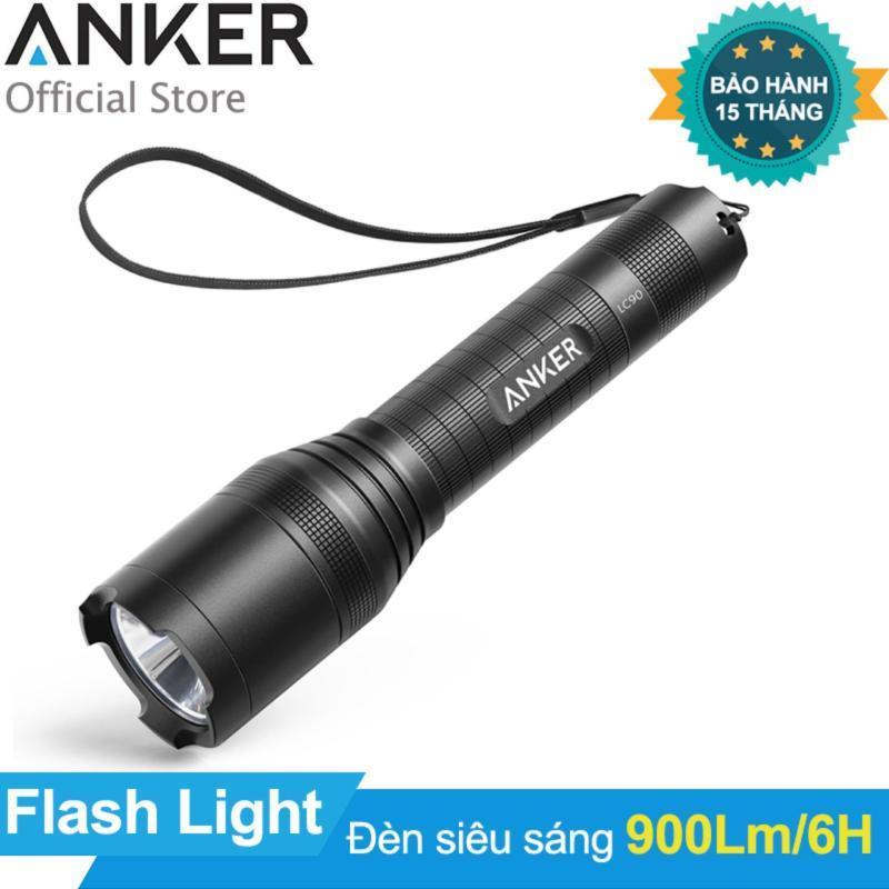 Bảng giá Mua Đèn pin siêu sáng ANKER LC90 Flashlight (Đen)