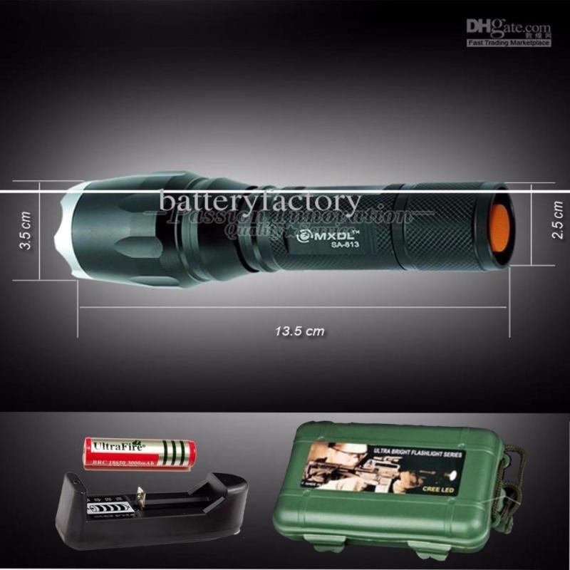 Bảng giá Den pin sieu sang chieu xa 1000m - Đèn pin siêu sáng HUNTER S26, giá rẻ nhất - BH 1 ĐỔI 1