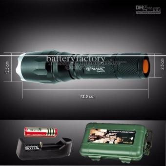 Đen pin siêu sáng - Đèn pin siêu sáng HUNTER S26, giá rẻ nhất - BH 1 ĐỔI 1