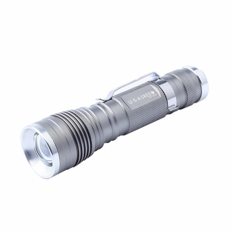 Bảng giá Mua Đèn pin siêu sáng HY-575 [màu bạc]