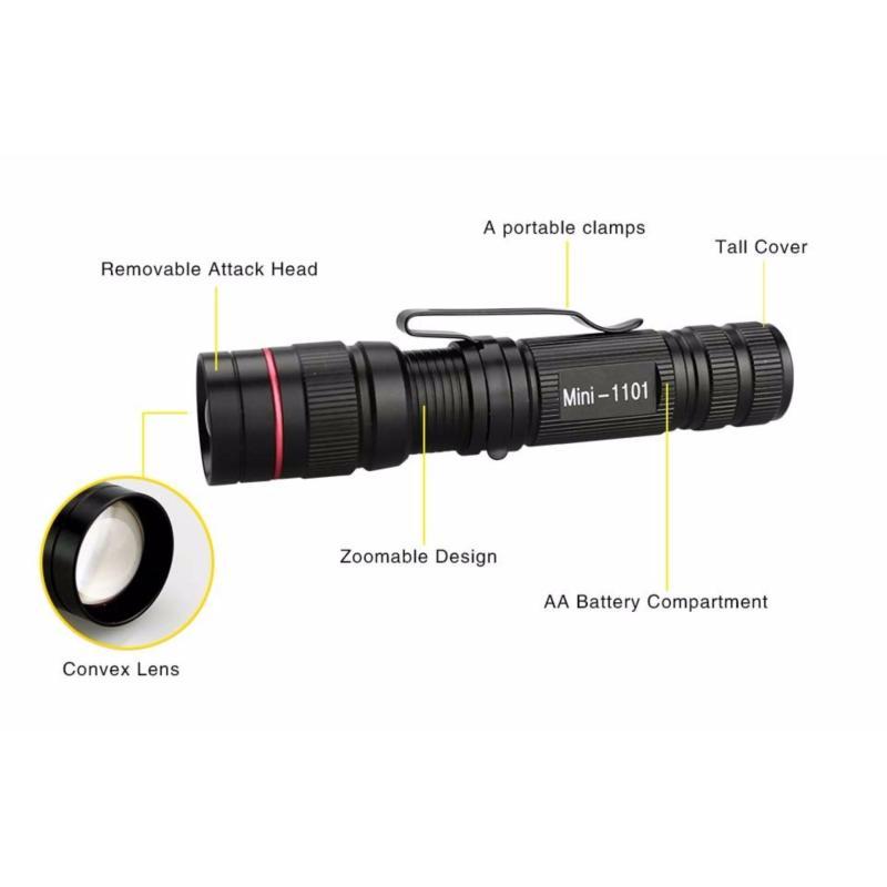Bảng giá Mua Đèn pin siêu sáng mini Foxanon Flashlight Cree Q5 1500 lumen