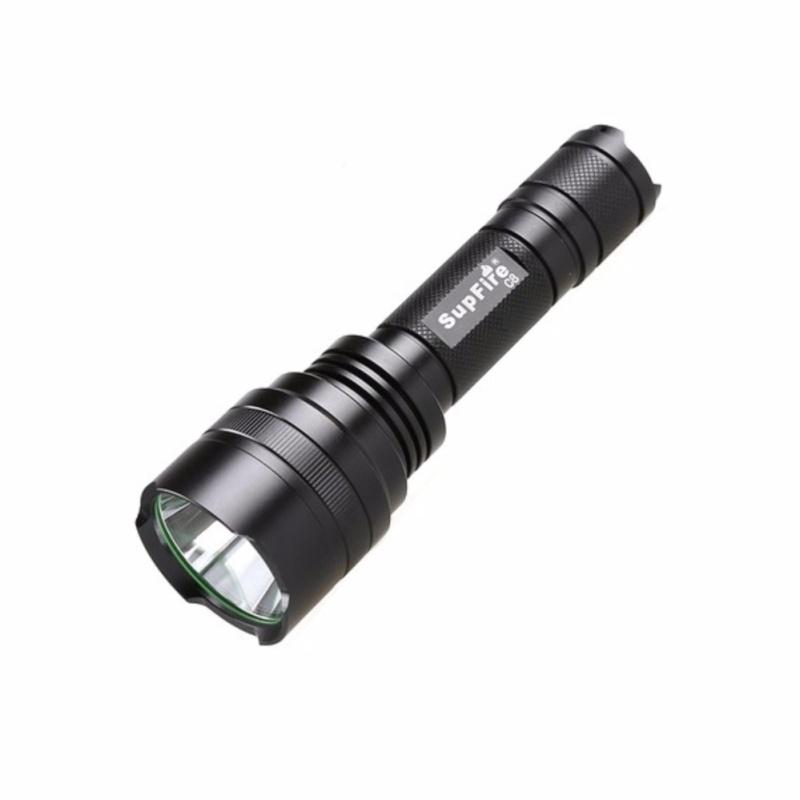 Bảng giá Đèn Pin Siêu Sáng - SUPFIRE C8-R5 (Đen)