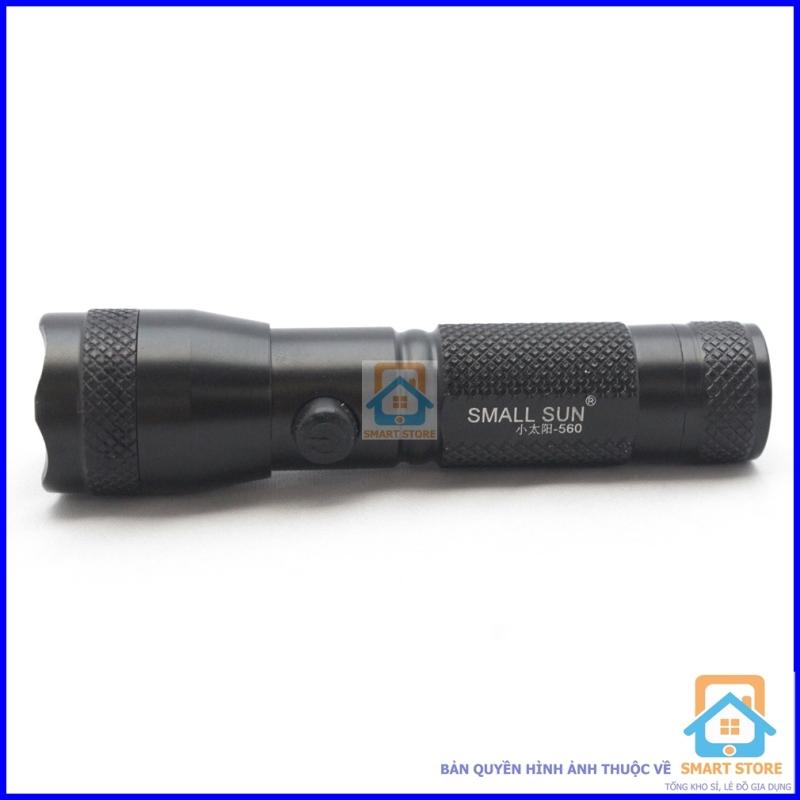 Bảng giá Đèn pin vỏ kim loại siêu sáng kiêm đèn laze Smart Store 560 - Bộ 2 chiếc