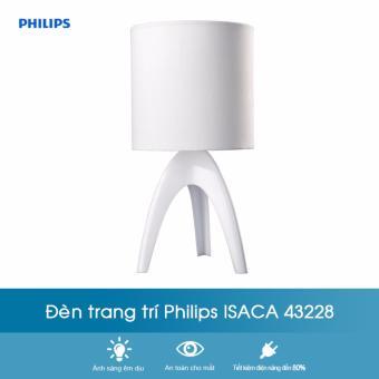 Đèn trang trí Philips Isaca 43228 (Trắng)
