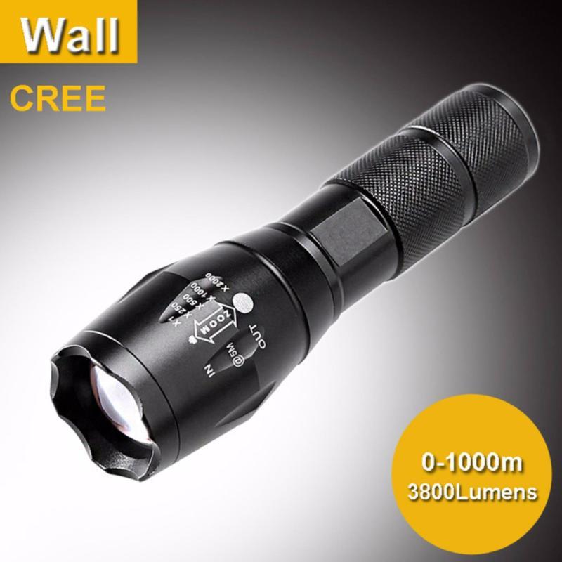 Bảng giá Mua Denpinpro - Đèn pin siêu sáng Quân sự MỸ  ST6 - Tặng sạc + Pin + Hộp đựng đèn.