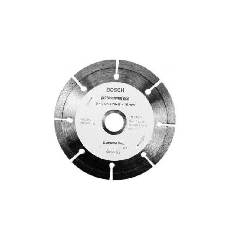 Đĩa cắt bê tông Bosch 2608602199 125 x 1.6 x 22.2mm (Xám)